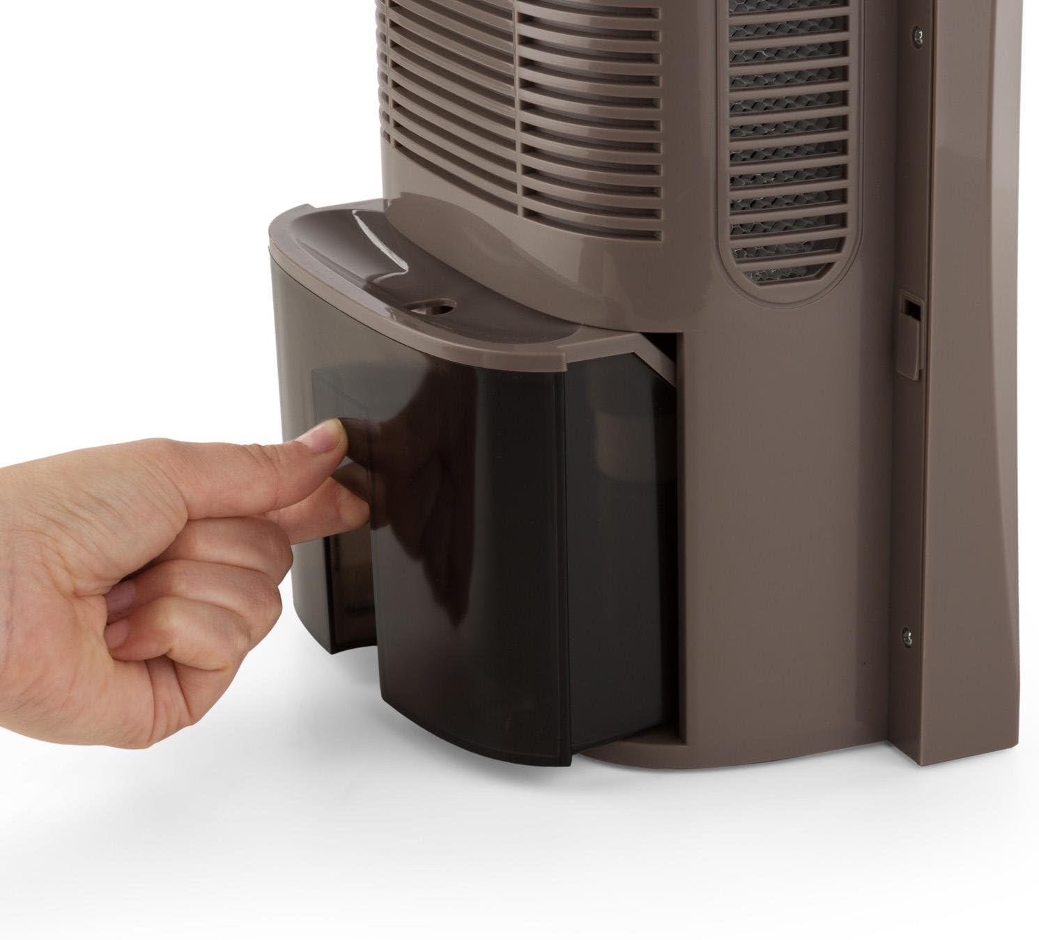 Klarstein Drybest 2000 2G Deshumidificador Deshumidificador el/éctrico Gris Dep/ósito de 2 L 0,7L//24h Purificador silencioso bajo Consumo 70 W Ionizador Integrado