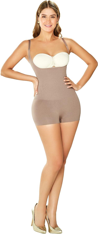 DIANE & GEORDI DJ10L4 Shapewear Bodysuit Short for Women | Fajas Colombianas