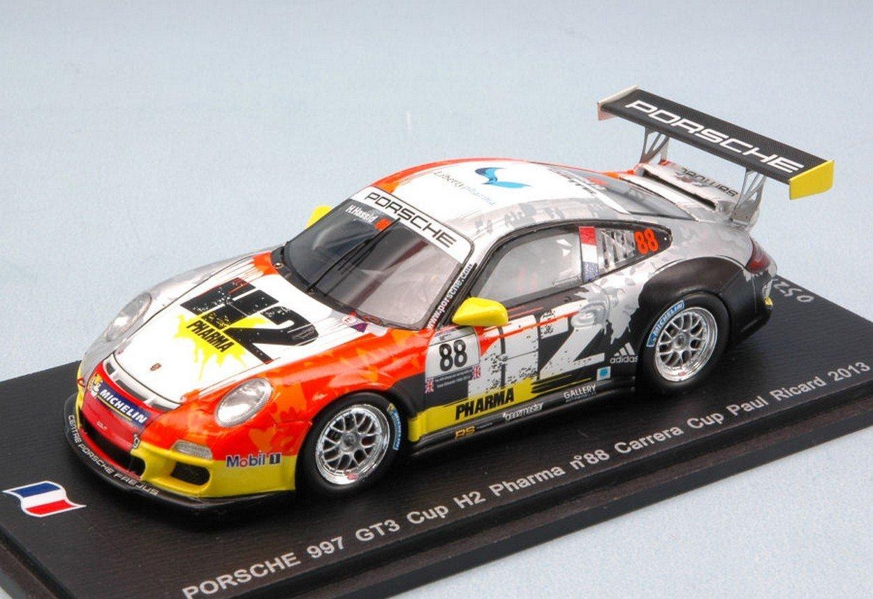 Spark Model SF073 Porsche 997 GT3 N.88 Carrera Cup Paul Ricard 2013 HASSID 1:43