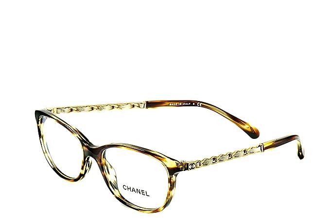 Chanel Womens Eyeglasses Frames CH 3221-Q C1498 51mm Havana / Gold ...