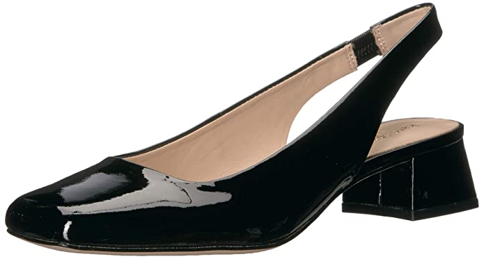 Vintage Style Shoes, Vintage Inspired Shoes Kate Spade New York Womens Sam Sling- Back Pumo Pump $138.60 AT vintagedancer.com