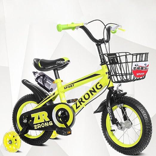 YYHSND Bicicletas para niños Bicicletas para niños de 16 Pulgadas ...