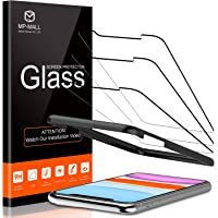 MP-MALL 3 PACK Tempered Glass Screen Protector Compatible for iPhone 11 6.1 inch and iPhone XR, Alignment Frame Easy…