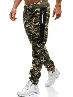 9c7b1ceb82 BOLF – Pantaloni – di Tuta – Sportivi – Motivo Mimetico – Tasche – con  Cuciture