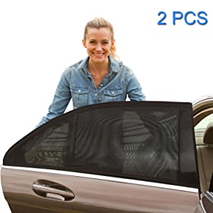 Universal Car Sun Shades , Fit Car Side Window Baby Sun Shade , Fits Most Cars , Provides Maximum UV Protection To Protect Your Baby, Children, Kids, - 1 Set (2 pieces)