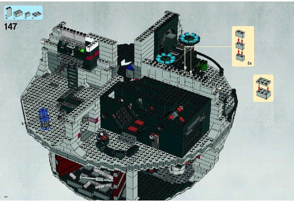Amazon Instruction Manuals For Lego Star Wars Set 10188 Death