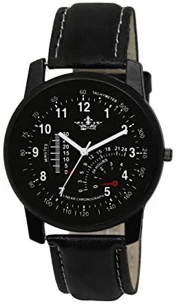 SYN Retails Superb Black Dial and Strap