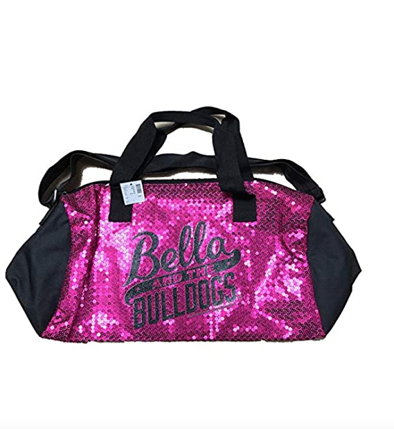 Justice sequin Duffle Bag Hot Pink  Amazon.ca  Clothing   Accessories 13eea11a15ddc