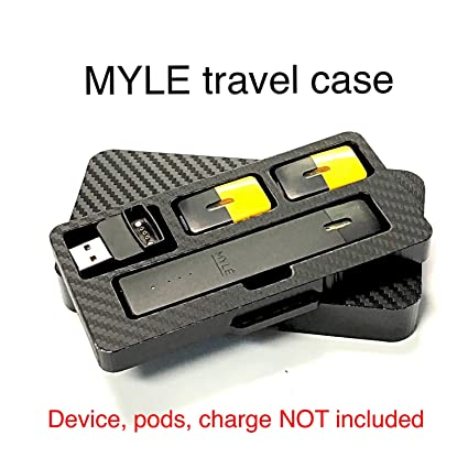 MYLE black travel case stand by Jwraps
