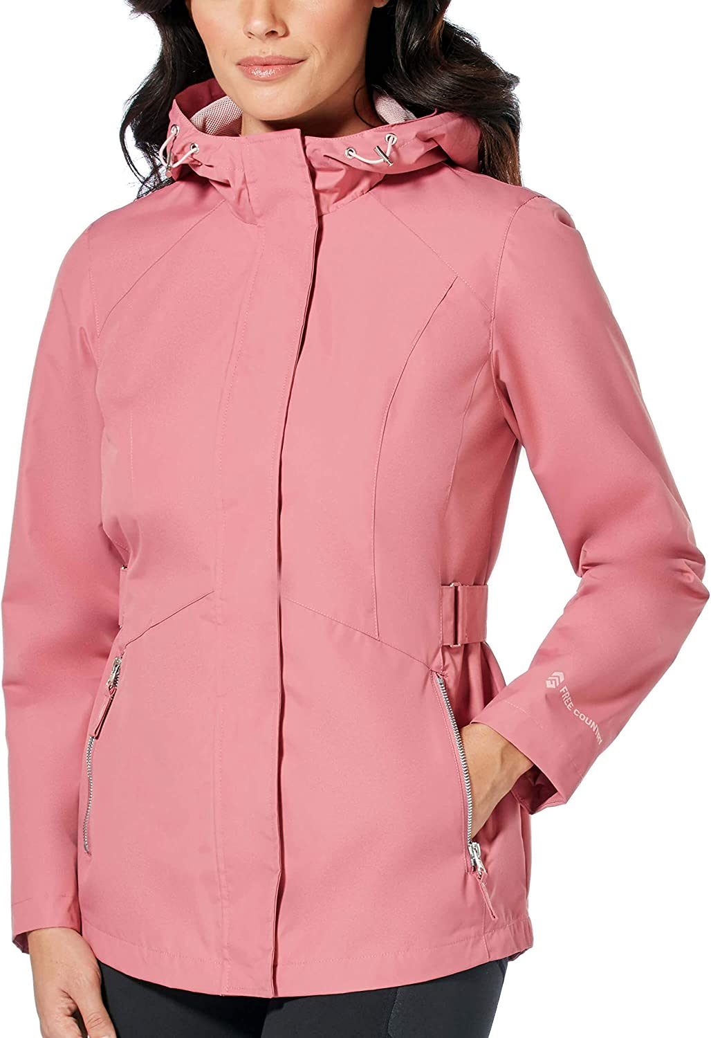 Free Country Womens Drizzle Radiance Anorak Jacket