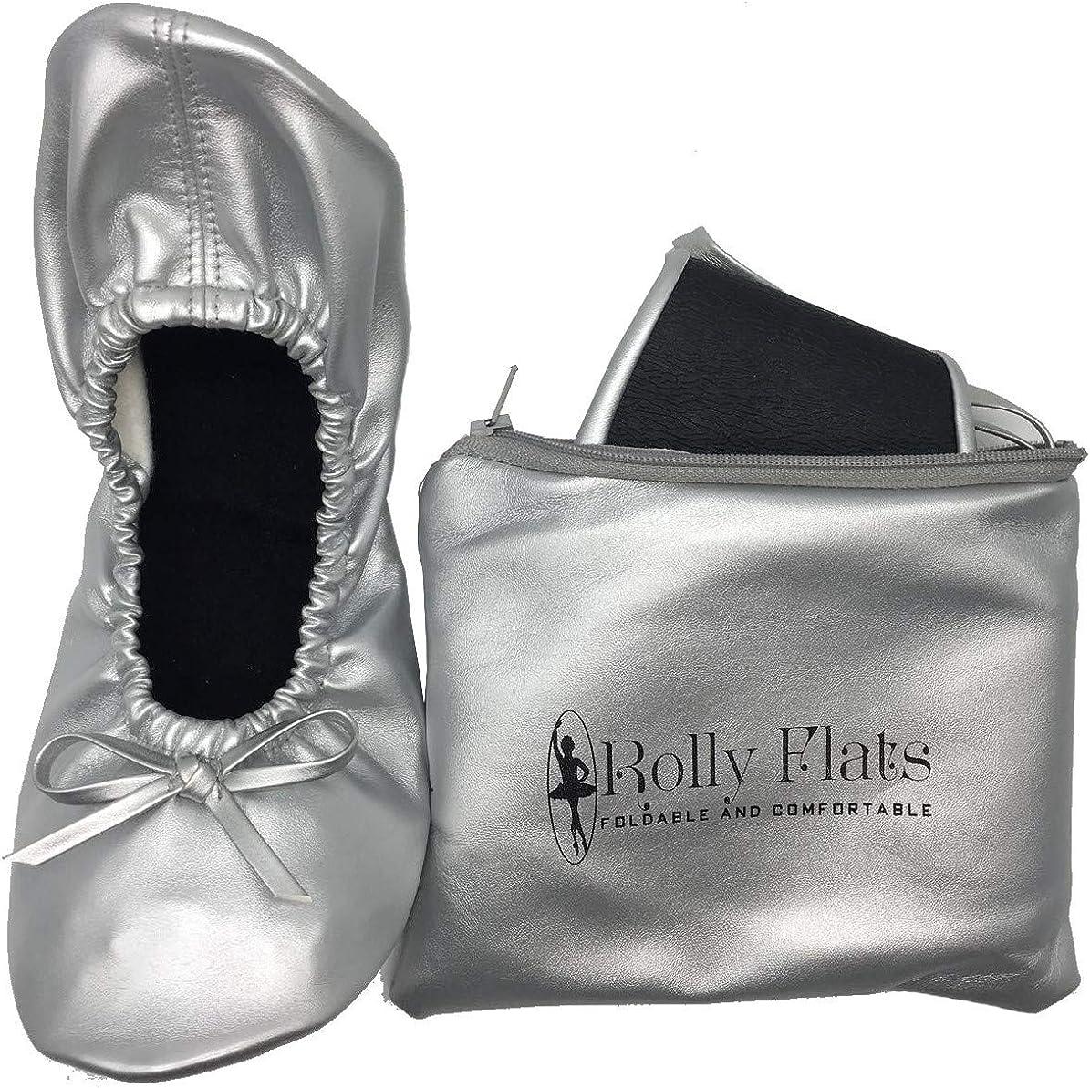 Ladies Women Roll up Foldable Flat