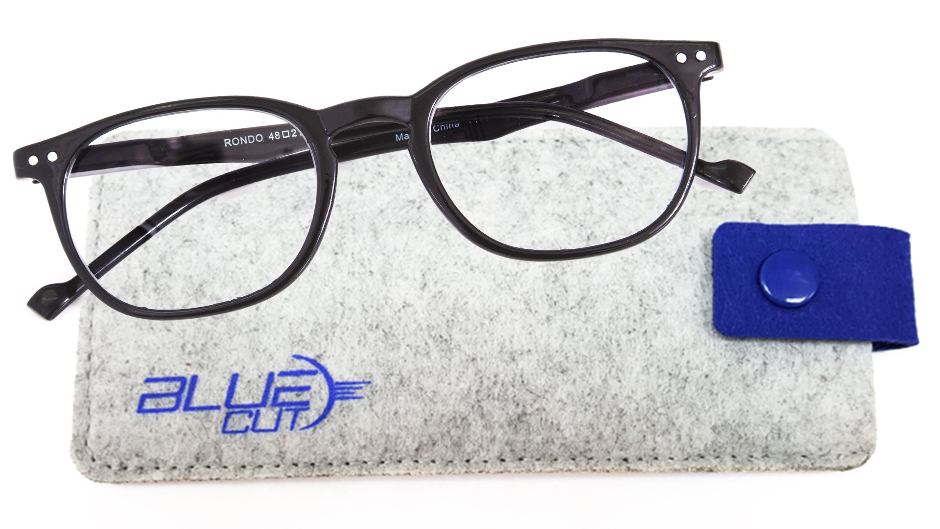 Blue Light Blocking Glasses – Anti-Fatigue, Anti-Glare Computer Glasses – Perfect for Computer, Phone, Tablet, TV Usage – Prevent Headaches and Improve Sleep with UV-Blocking Gamer Glasses by Blue Cut by GREAT PICK