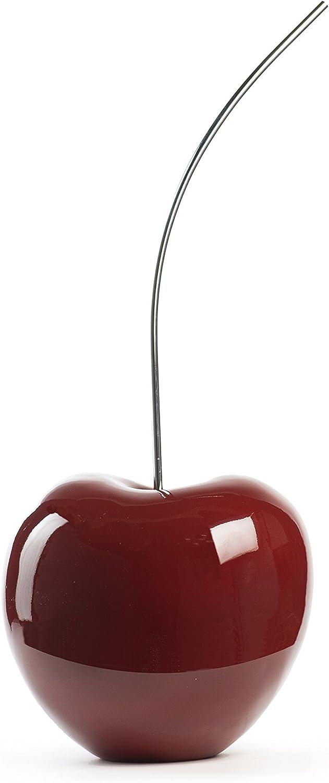 Finesse Decor E2250-R Red Cherry Sculpture, Medium