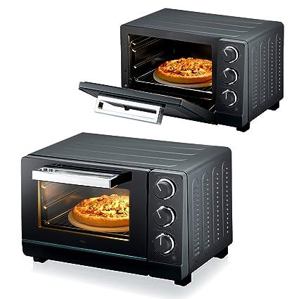 (011) Melissa 20 L – Horno (convección Pizza parrilla de piedra 1380 W