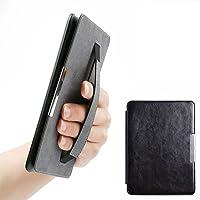 Cantome Estuche Kindle Paperwhite, con funda de cuero Auto Sleep / Wake PU, estuche Smart Ultra Slim Premium con correa de mano para Kindle Paperwhite