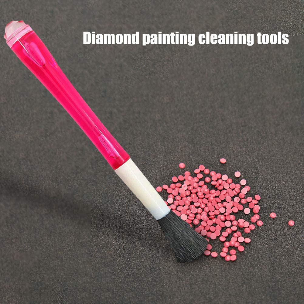 DIY Diamond Painting Drill Clean-up Tool Sweep Pick up Drills Dual-use SweIHSG