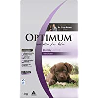 OPTIMUM Puppy Chicken Dry Dog Food 15kg Bag, Puppy, Small/Medium/Large