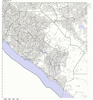 Amazon.com: Pinellas County, Florida FL ZIP Code Map Not Laminated ...