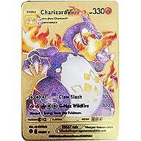 spel Pokemon-kaarten Metal V Vmax Game Battle Card Anime Charizard Golden Card EX Engelse collectie kinderen kerstcadeau…