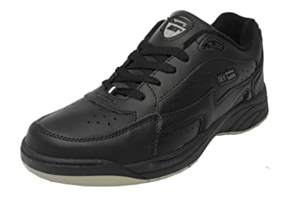 2984752e9fca Dek Mens Wide Fitting Lace Up Leather Trainers Shoes Black White Size 8 9  10 11 12 13 14  Amazon.co.uk  Shoes   Bags