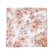 Sunset Floral Swaddle - Mini Scout Muslin Nursery Baby Blanket - Travel Gift, Sleeper, Newborn, Wrap