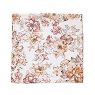 Sunset Floral Swaddle - Mini Scout Muslin Nursery Baby Blanket - Travel Gift, Sleeper, Newborn, Wrap