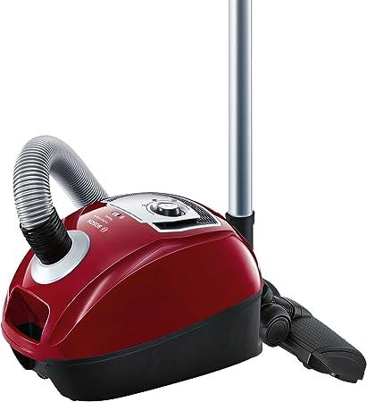 Bosch BGL4A500 GL-40 ProPerformPlus Aspirador trineo con bolsa, diseño compacto, cepillo especial para parquet, color rojo cereza: Amazon.es: Hogar