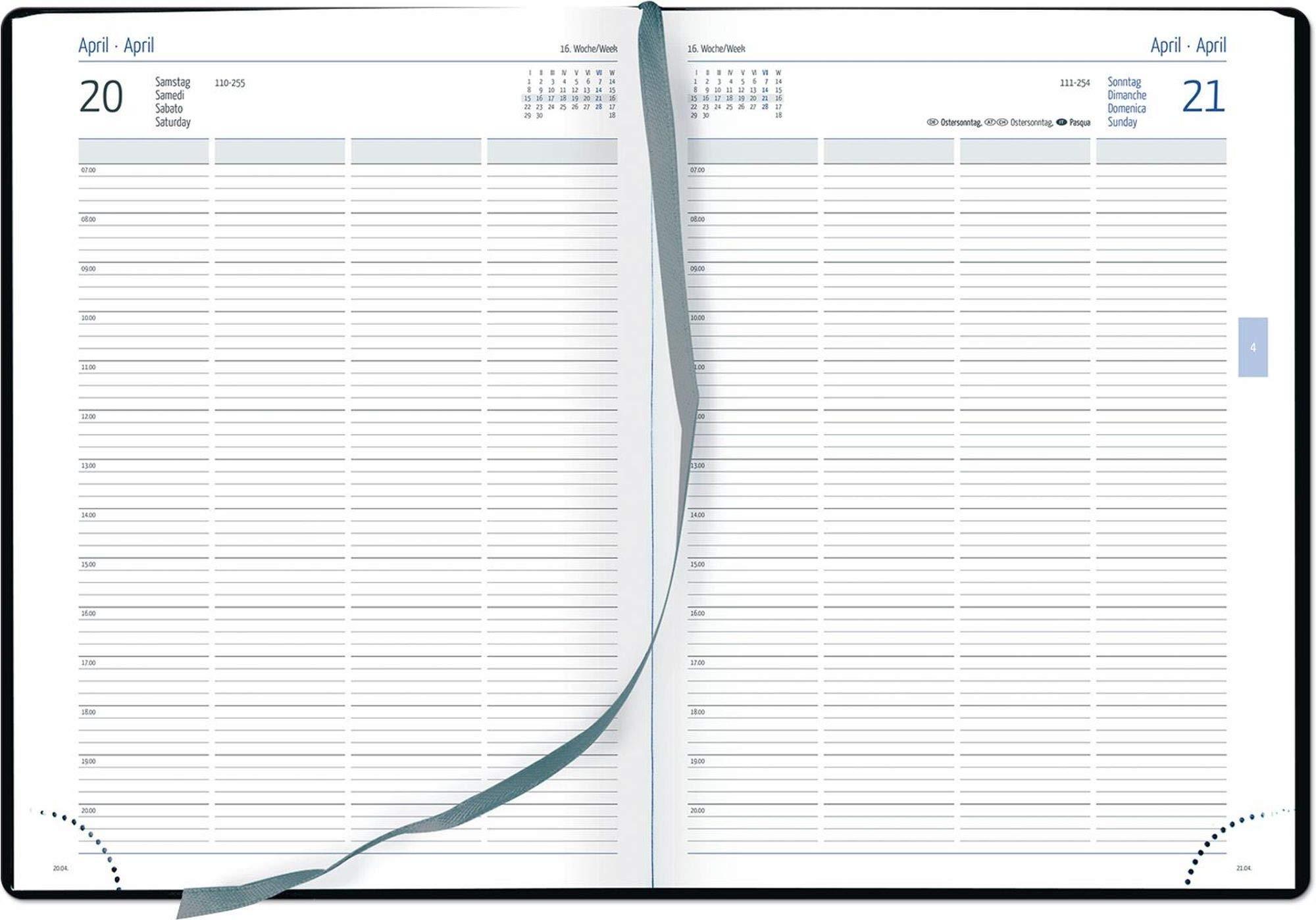 GÜSS® Planungsbuch 2019, DIN A4 schwarz, Nr. 58990: Amazon ...