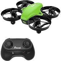 Potensic Drone Mini Avion A20 Fonction sans tête, Altitude Tenir, Deux Boutons pour contrôler décoller et atterrisser, Drone Cadeau.