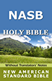 New American Standard Bible - NASB 1995 (Without Translators' Notes)