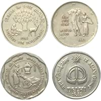 Genuine Coins Gallery.4 Different Indian Coins