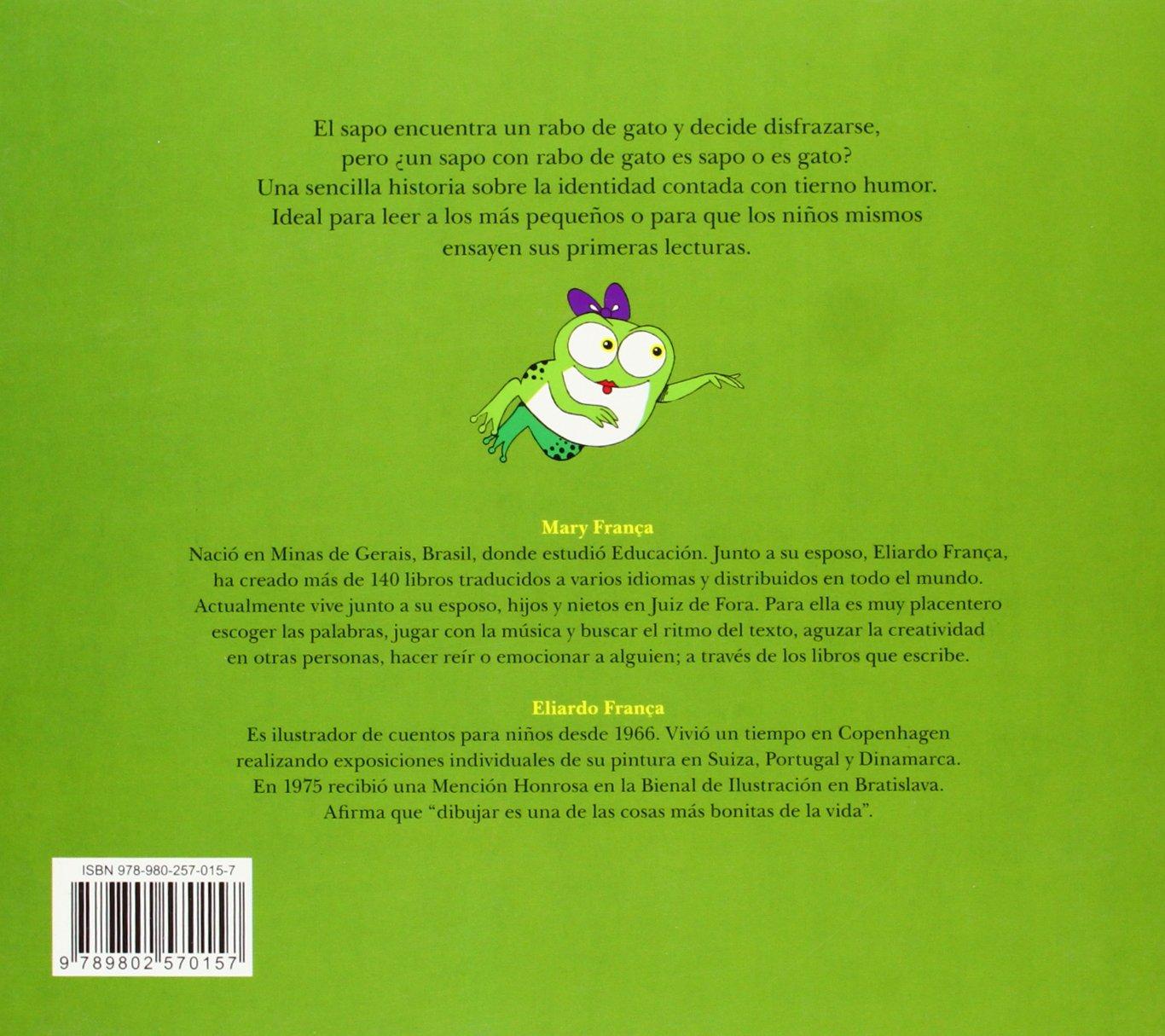 Rabo de Gato: Mary Fraca, Eliardo, Mary Fraca, Ekare: 9789802570157: Amazon.com: Books