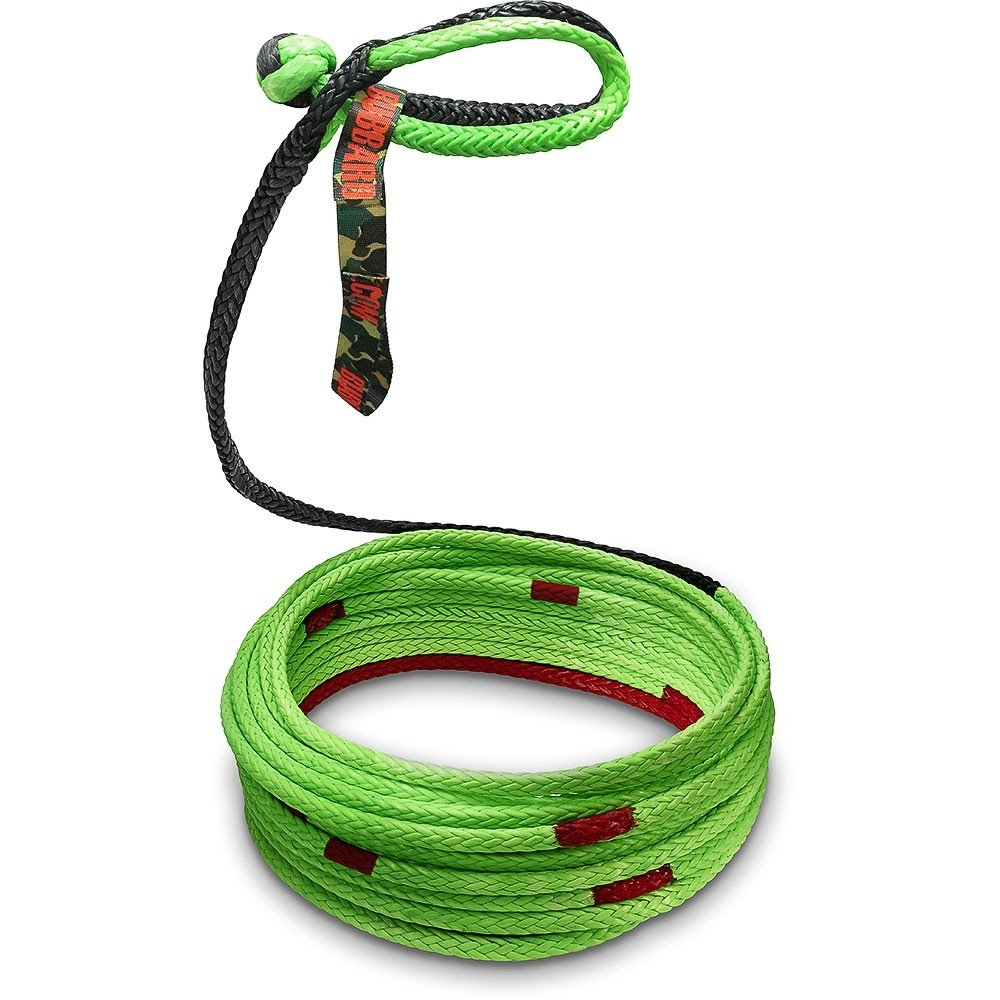T/&HI-B078YZ2752 1//4 x 40 FT Powersports Bubba Rope Synthetic Winch Line