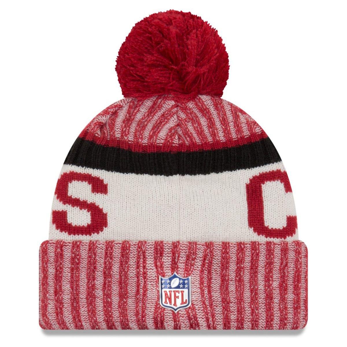 New Era Arizona Cardinals 2017 On-Field Sport Knit Beanie Hat//Cap