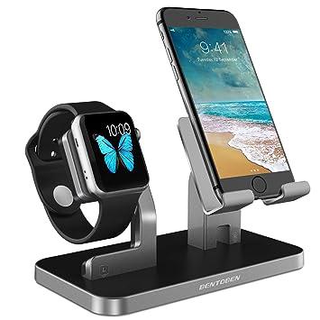 Soporte BENTOBEN para Apple Watch series 1, 2 y 3 y iPhone ...