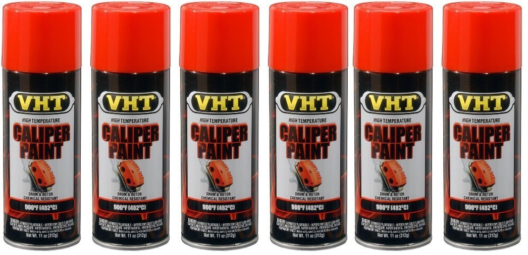 VHT SP733 Real Orange Brake Caliper Paint Can - 11 oz. by VHT (6)