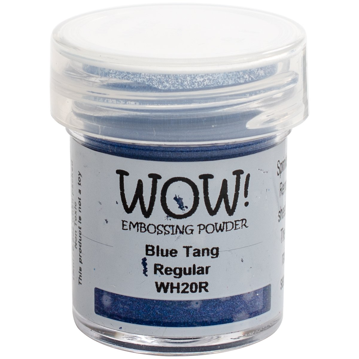 Wow Embossing Powder WH20R Embossing Powder, 15ml, Blue Tang