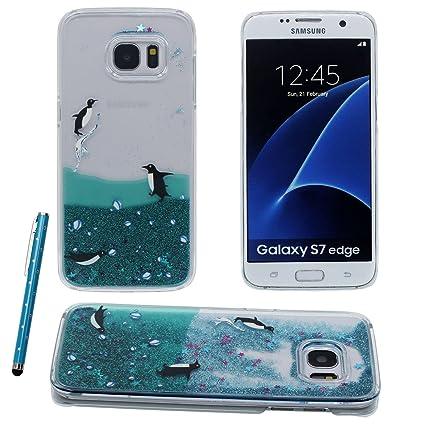 Samsung S7 Edge Carcasa Protectora, Encantador Pingüino ...