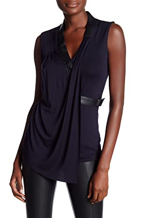 Bailey 44 Women's Uneven Bars Drape Front Top