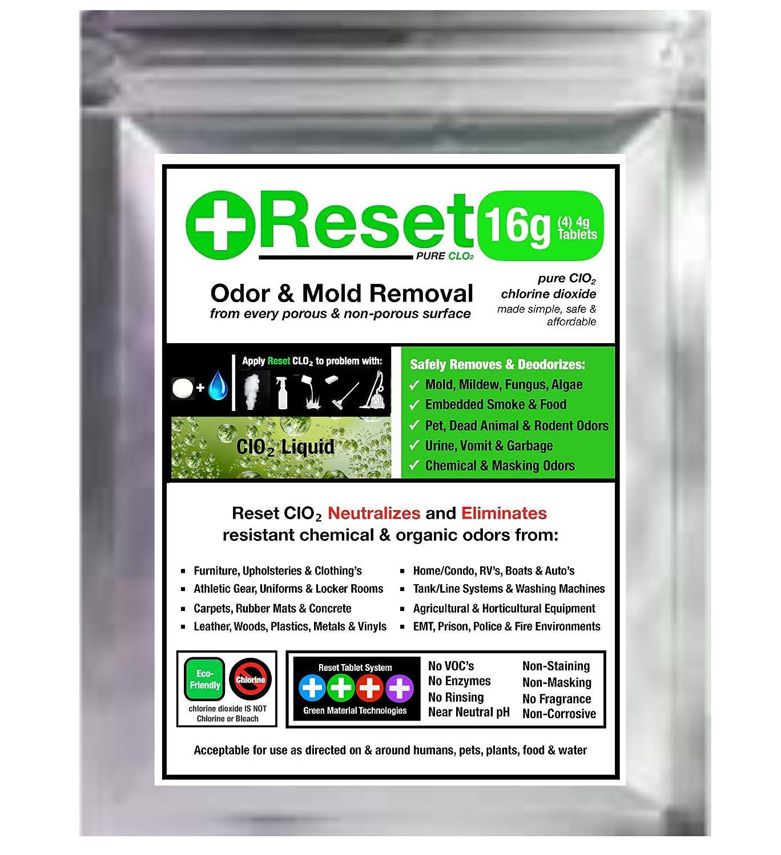 Amazon.com: Reinicio líquido de cloro, dióxido de olor ...
