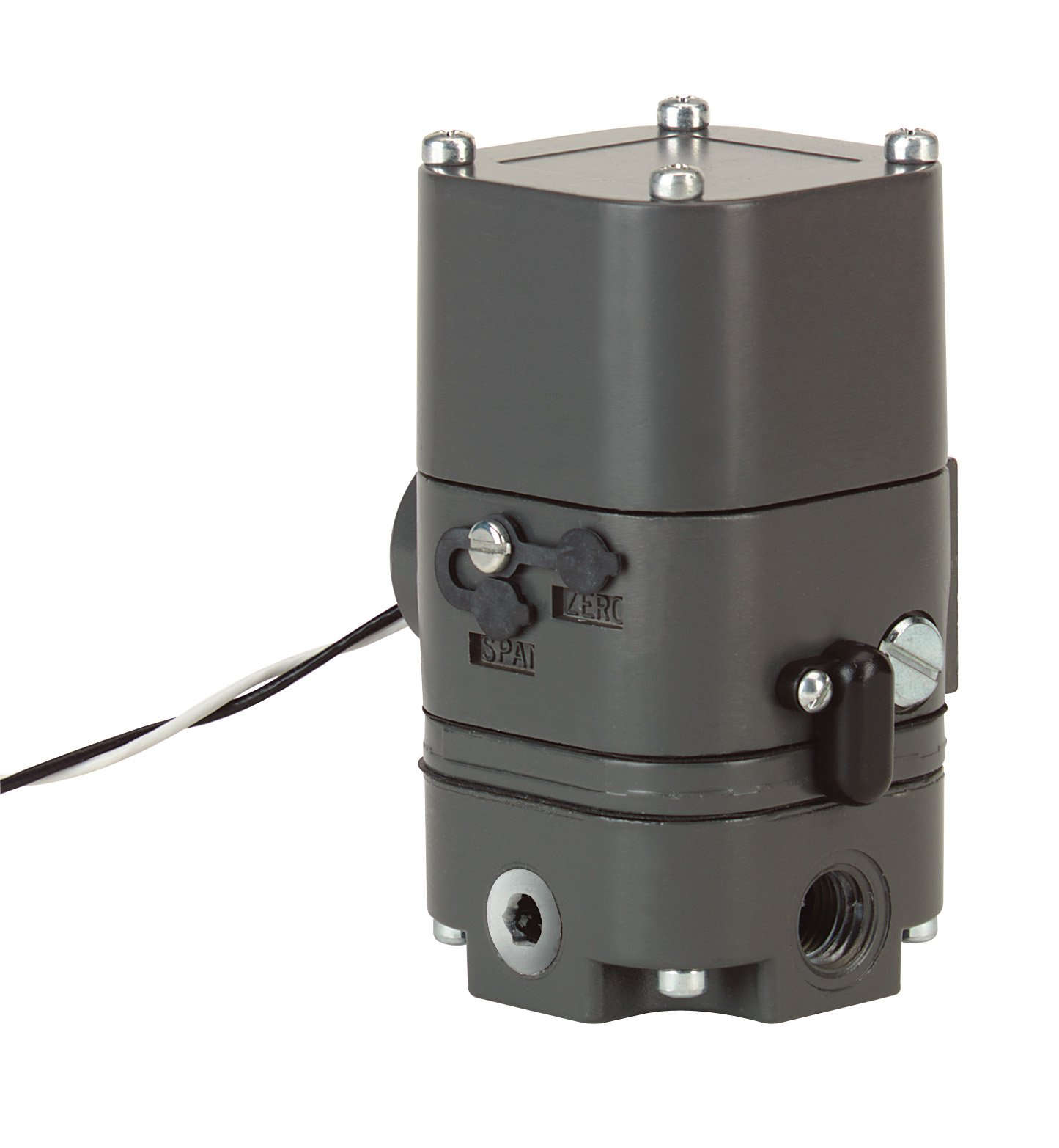 PROXIMITY (Dwyer) Model IP-42 Current to pressure transducer, 4-20 mA input, 3-15 psi (20-100 kPa) output.