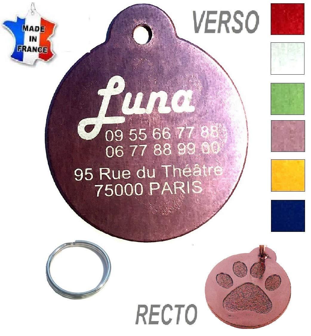 AWALIBERTY - BILIBERTY Medalla perro y gato + grabado - Producto ...