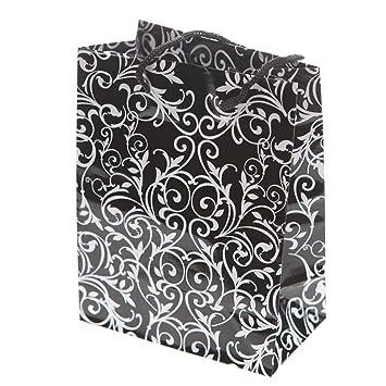 Amazoncom Small Black White Wedding Gift Bags 1 Dozen Bulk