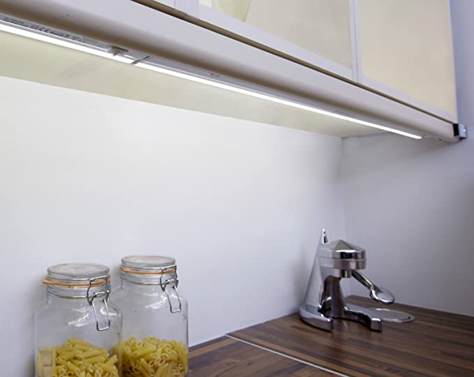 1 x 525mm led linkable kitchen under cabinet strip lights link light 1 x 525mm led linkable kitchen under cabinet strip lights link light warm white switched aloadofball Image collections