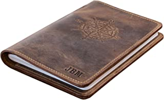 product image for Genuine Leather Journal, Refillable Journal, Handmade in the USA