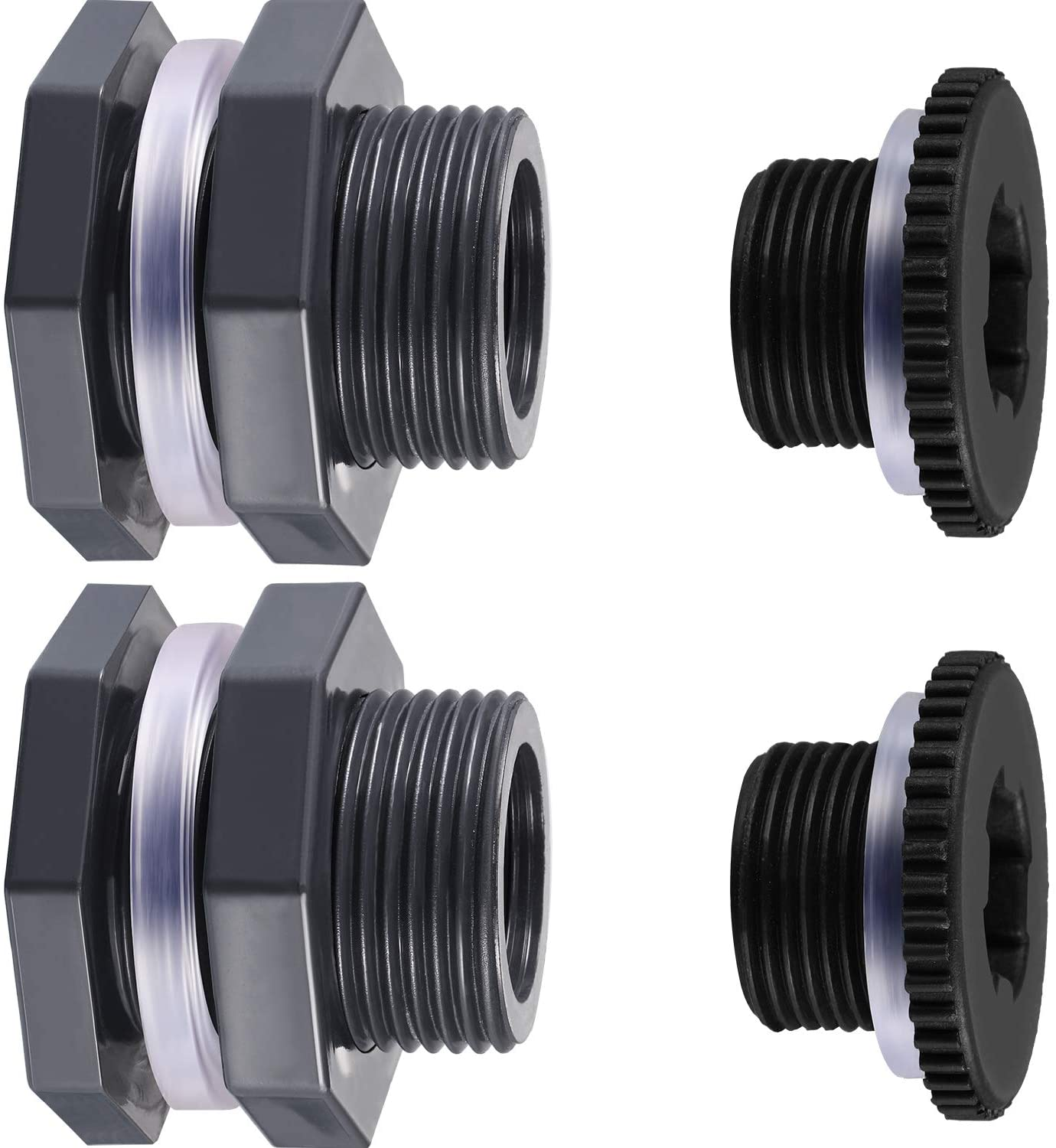 Color : NO.1 Pipes /& Hoses 3pcs PVC Tank Drainage Ball Valve Pipe Fitting UPVC Pipe Connector For Aquarium Fish Tank Garden Landscape Water Tank With Drainage Tubes