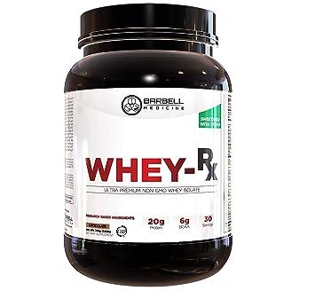 7f2bb9a819e79c Amazon.com: Barbell Medicine, Whey Protein Isolate Powder with Pure ...