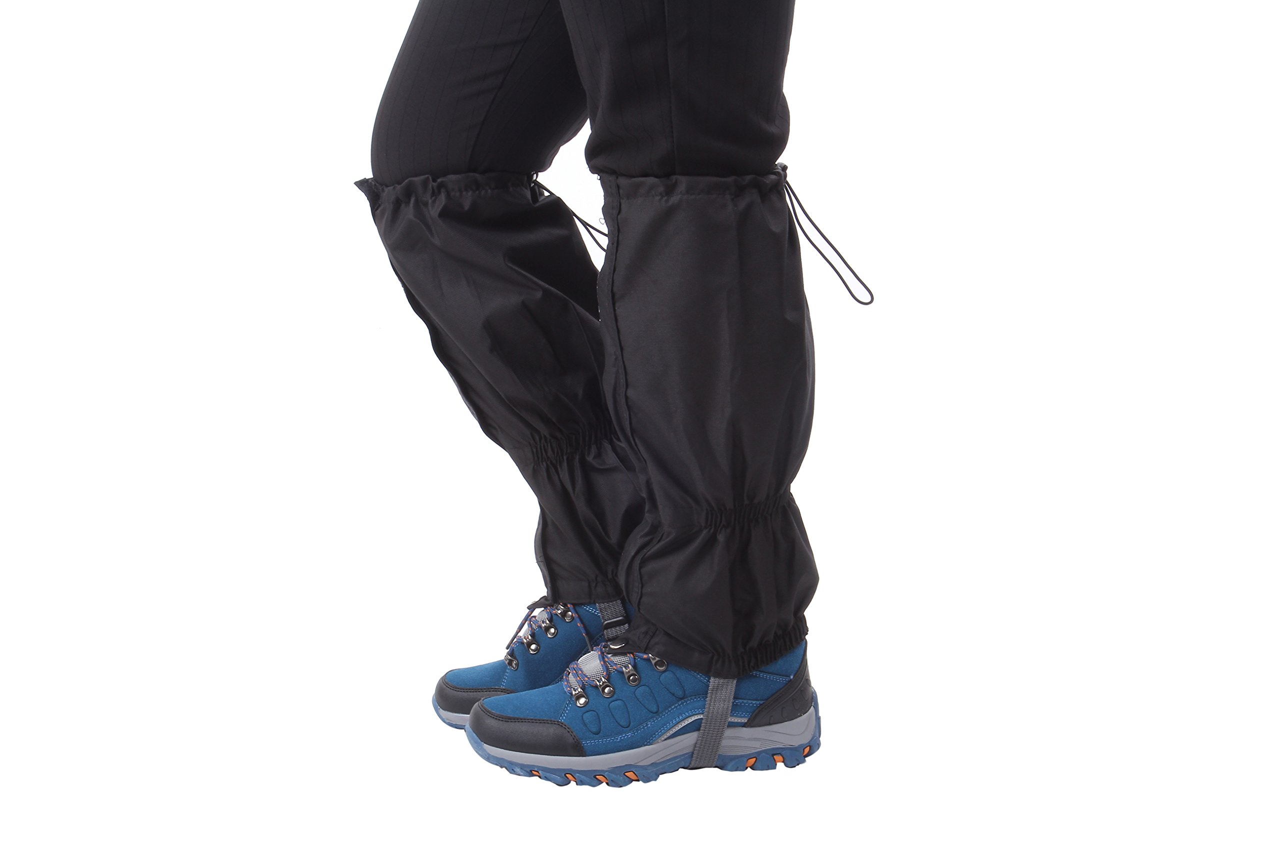Macks.i Outdoor Unisex Waterproof Camping Hiking Gaiters High Leg Cover 1pair with a Free Shoe Bag by Macks.i (Image #8)