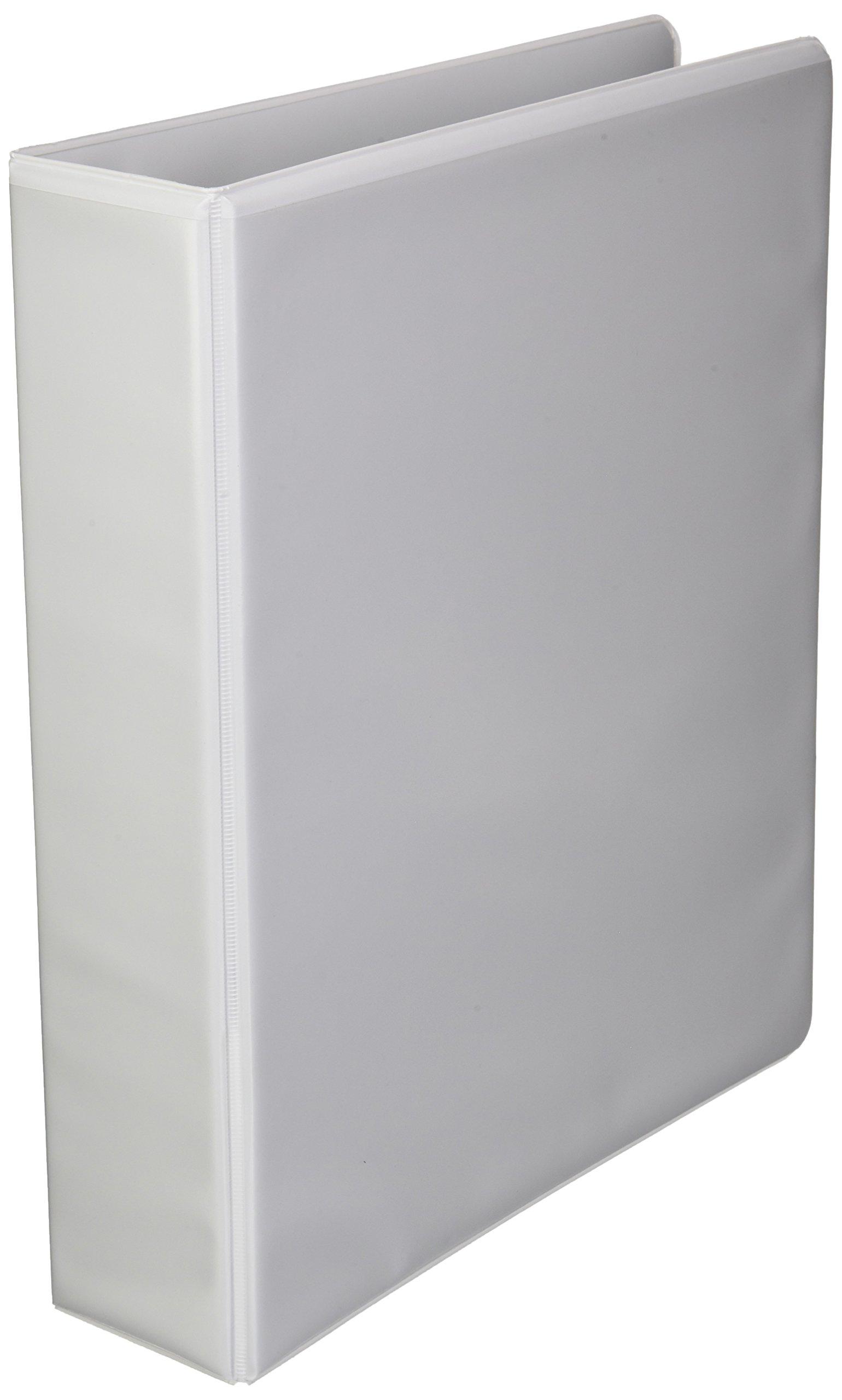 Wilson Jones International A4 4-Ring View Binder, 2 Inch, Customizable, White (W40823)