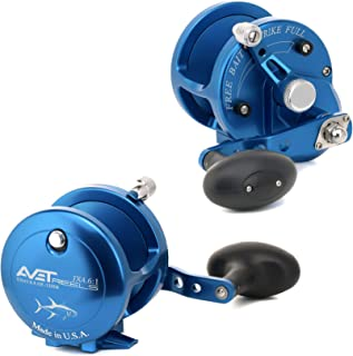 product image for Avet JX4.6:1-LH Lever Drag Conventional Reel, Silver, Left Hand